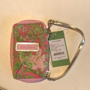 Lilly Pulitzer Carded ID Wristlet, NWT